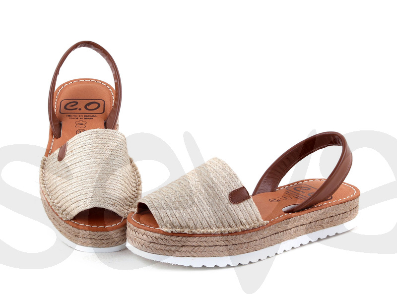 Especial sandalias yute de mujer made in Spain Calzados Seva
