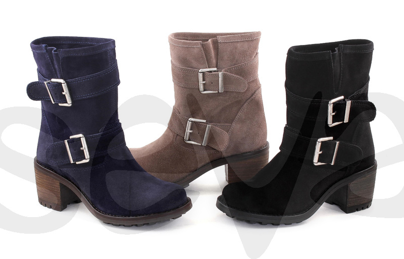 CASUAL              181CA · ANKLE BOOT WOMAN LEATHER