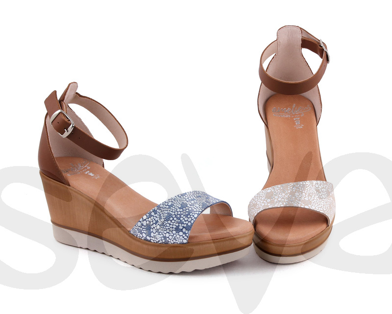 AMELIE ESSENCE              453ES · SANDAL WOMAN LEATHER