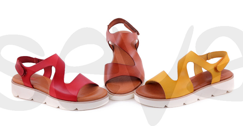 CASUAL              1125CA · SANDAL WOMAN LEATHER