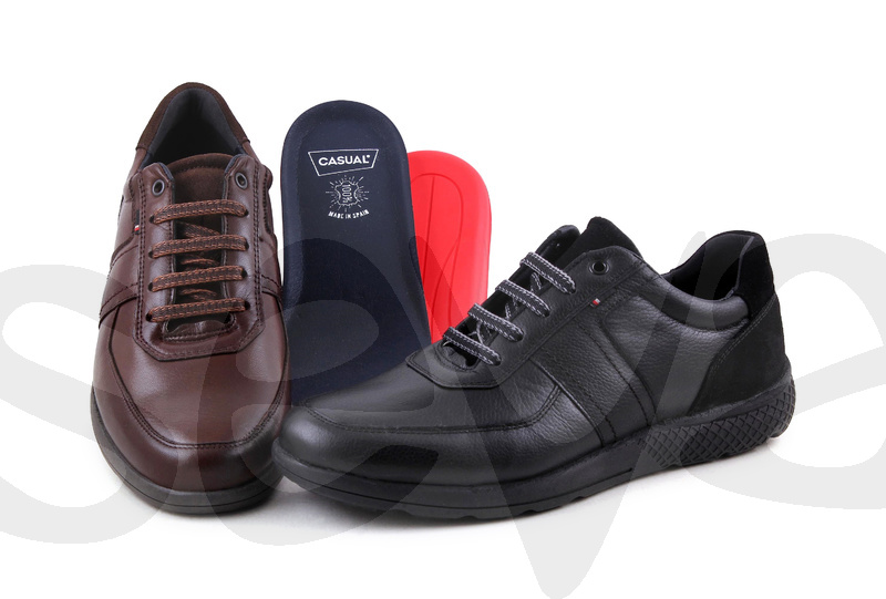 CASUAL              35122CA · SHOE MAN LEATHER