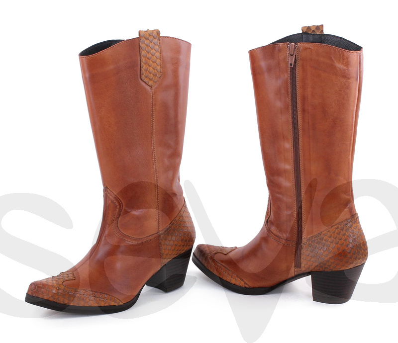 BDA              6421BDA · BOOT WOMAN LEATHER