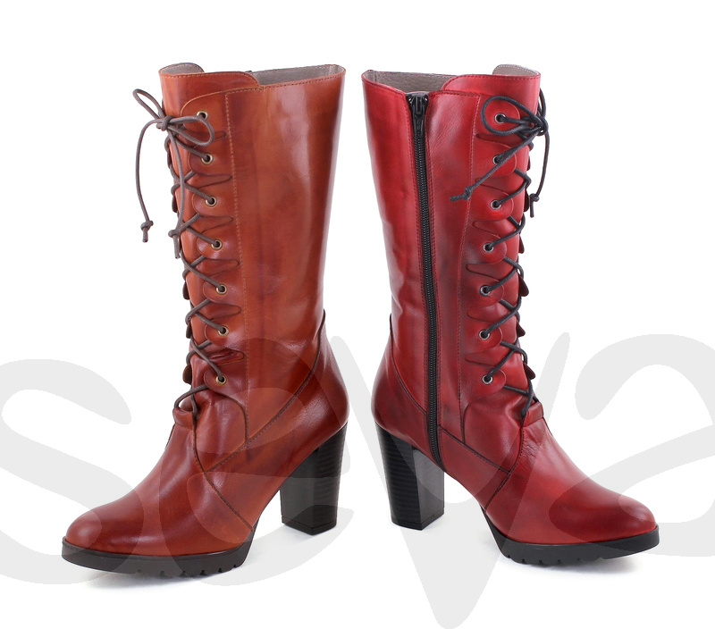 BDA              6337BDA · BOOT WOMAN LEATHER