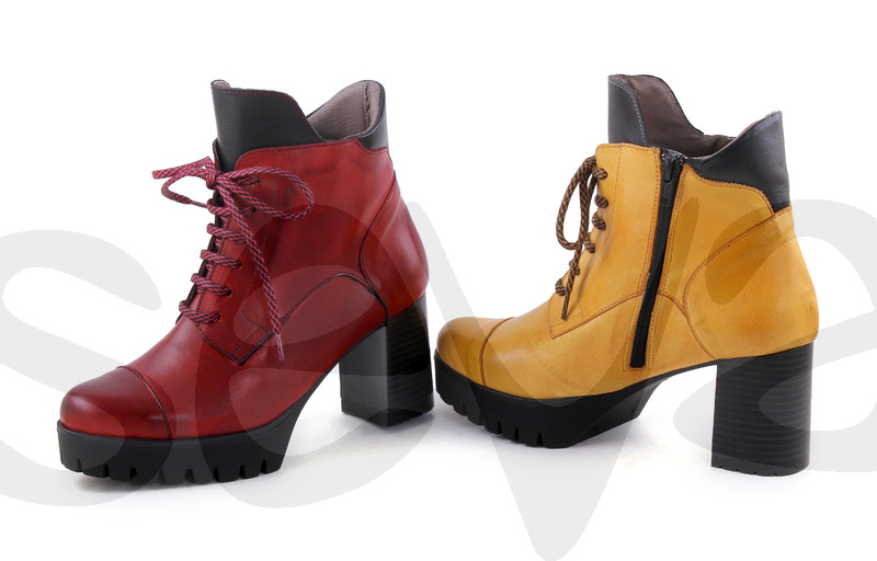 BDA              6367BDA · BOOT WOMAN LEATHER