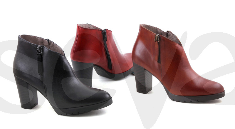 BDA              6402BDA · ANKLE BOOT WOMAN LEATHER