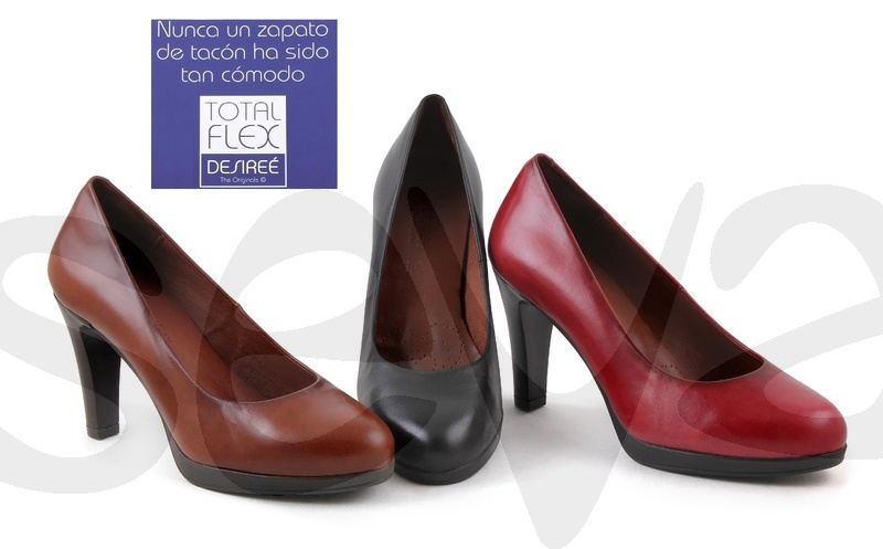 DESIREE              92190 · SHOE WOMAN LEATHER