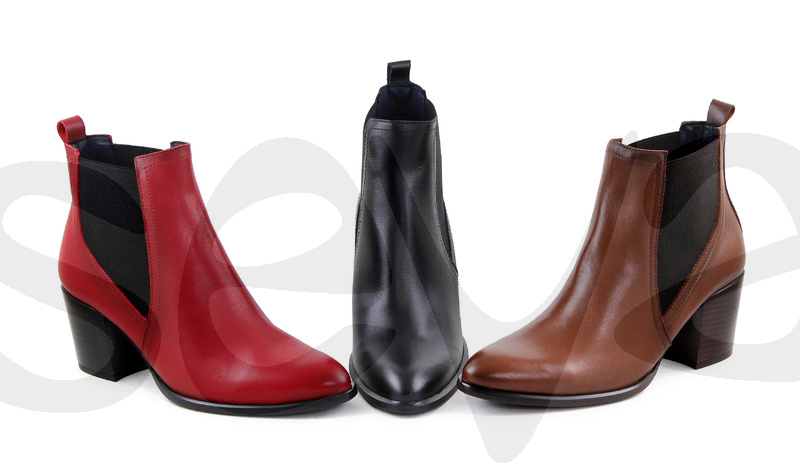 AMELIE ESSENCE              3748AE · ANKLE BOOT WOMAN LEATHER