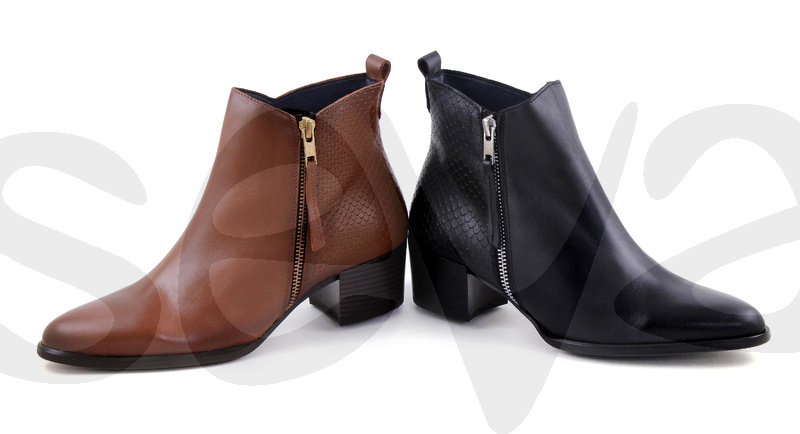 AMELIE ESSENCE              3733AE · ANKLE BOOT WOMAN LEATHER