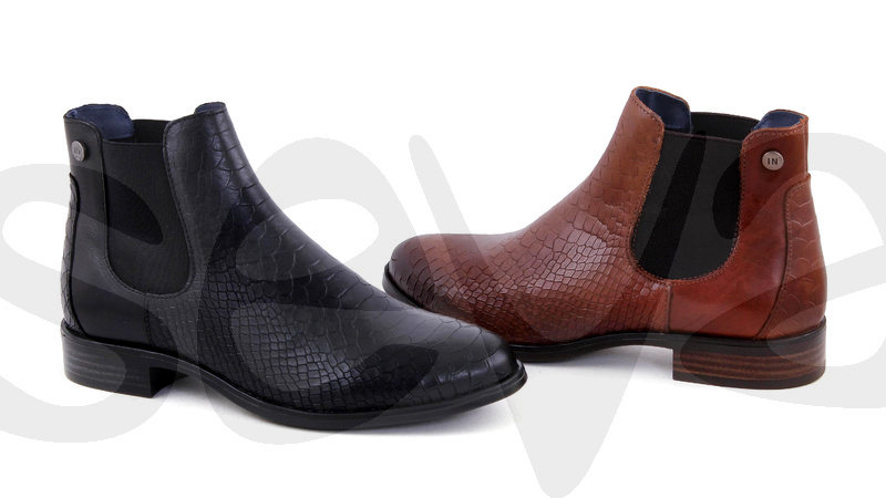 INNOVATION              504P · ANKLE BOOT WOMAN LEATHER