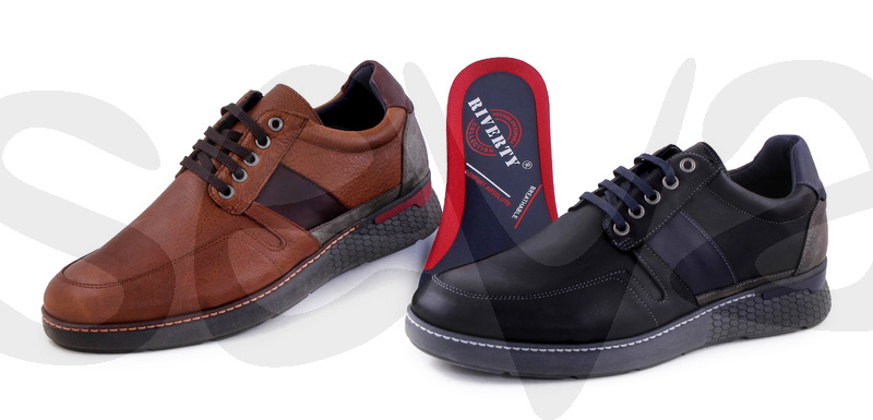 RIVERTY              642RI · SHOE MAN LEATHER
