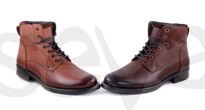 INNOVATION              6208INN · ANKLE BOOT MAN LEATHER