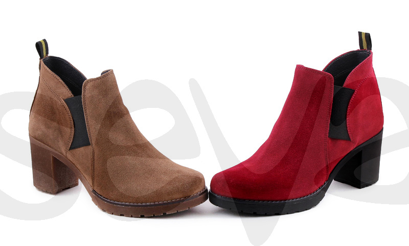 CASUAL              11093CA · ANKLE BOOT WOMAN LEATHER