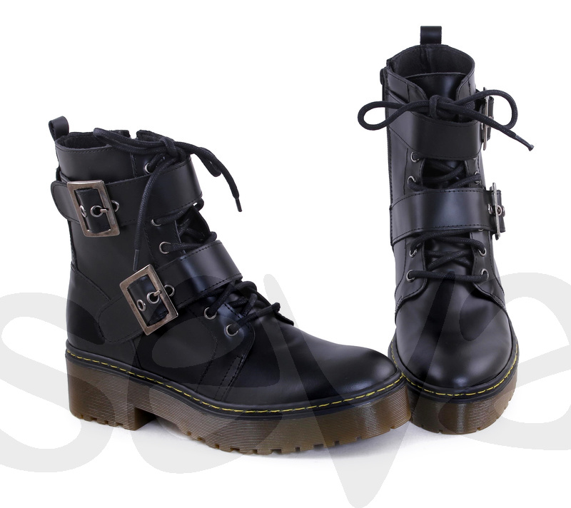CASUAL              501CA · BOOT WOMAN LEATHER
