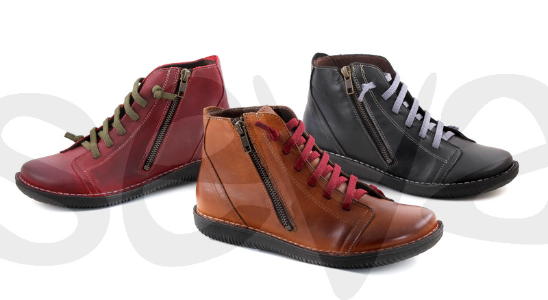 BOLETA SHOES              3012 · ANKLE BOOT WOMAN LEATHER