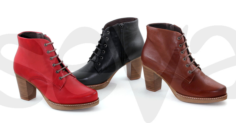 TUPIE              895 · ANKLE BOOT WOMAN LEATHER