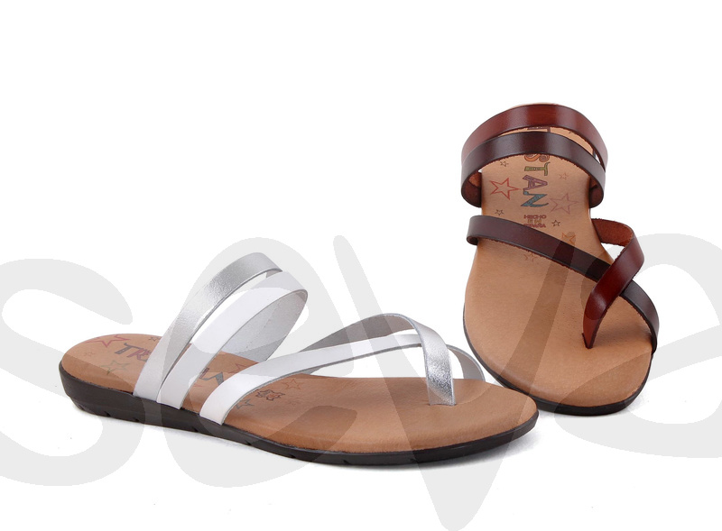 TRISTAN              6081TR · SANDAL WOMAN LEATHER