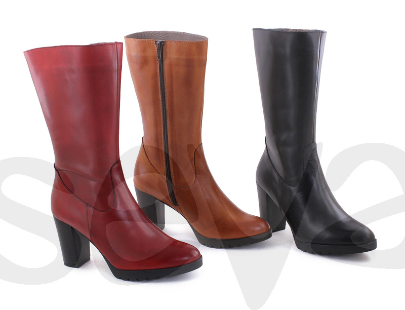 BDA              6339 · BOOT WOMAN LEATHER