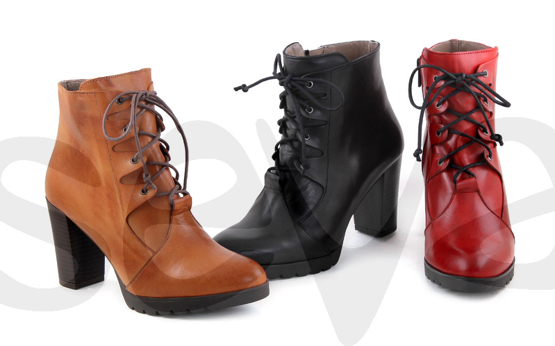 BDA              6336BD · ANKLE BOOT WOMAN LEATHER