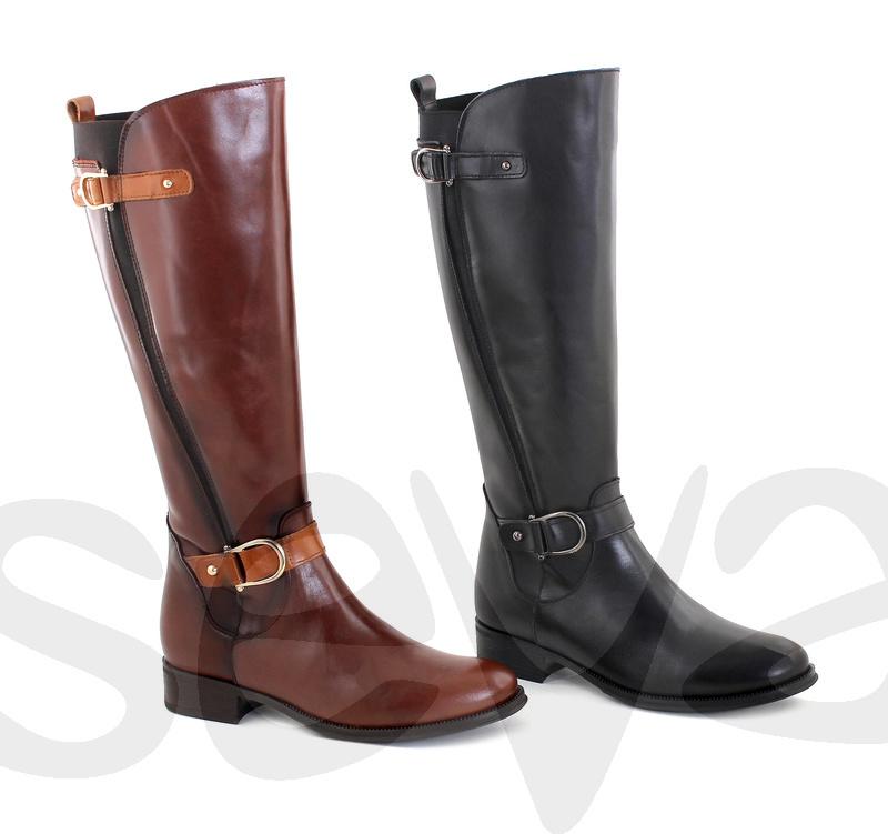 BOTTE de FEMME CUIR chaussures 2521DD gros Vente en wN0m8n